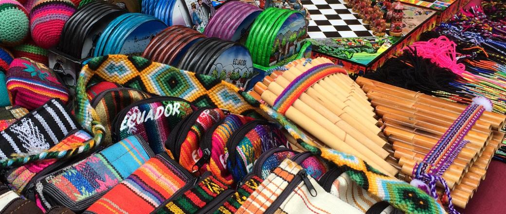 Otavalo Indigenous Handicrafs Market