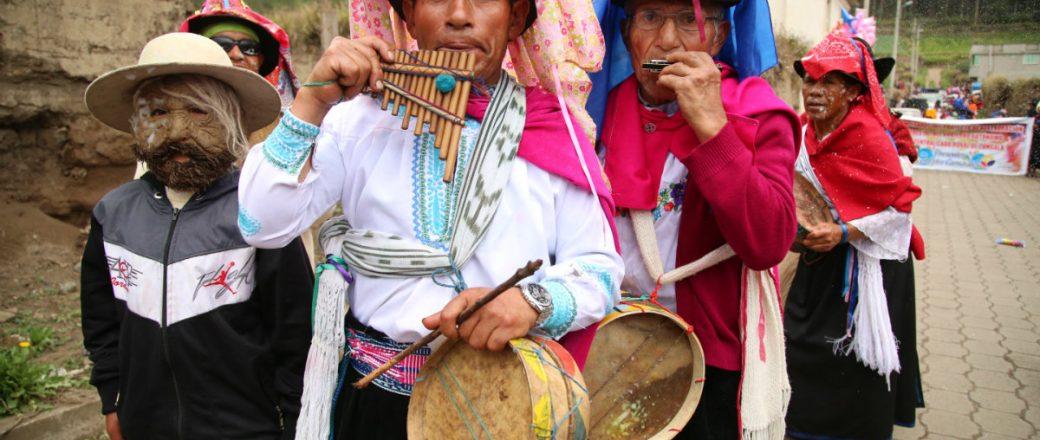 El Carnaval Ecuatoriano una fiesta para todos.
