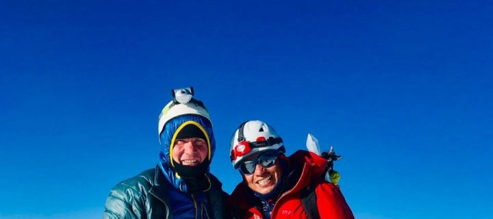 Bryan reaches the top of Cotopaxi volcano!