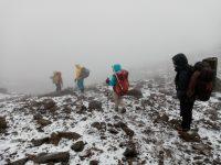 Bad weather adventure at Chimborazo