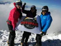 Climbing Cotopaxi Volcano